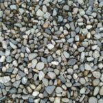 Галька мелкая сеянка серо-синяя