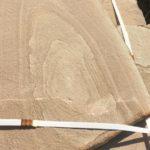 Песчаник капучино с разводами