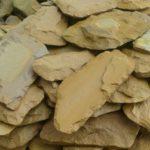 Песчаник колотый облицовочный (рваный камень)